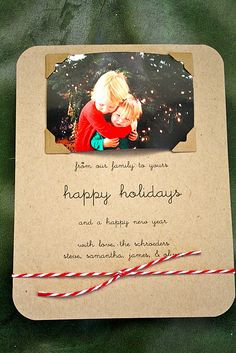 Making my own cards this year? Love handmade Christmas card.