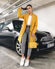 15 Lovely Winter Outfits You Should Already Own - Damen Mode 2019 Mode Outfits, Fashion Outfits, Womens Fashion, Fashion Clothes, Classy Outfits, Casual Outfits, Casual Dresses, Mode Ootd, Gingham Pants