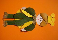 Calineczka Origami