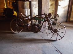 Steampunk museum - motorcycle