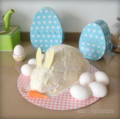 Easter Bunny carrot cake, torta di carote coniglietto pasquale