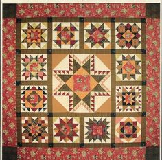 Grandmother\'s Sampler Quilt Pattern by Lori Smith