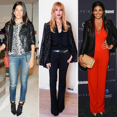 Leather, Jumpsuits, and More Designer Secrets For Day to Night