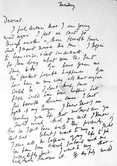 March 28, 1941: Virginia Woolf's Suicide Letter and Its Cruel Misinterpretation in the Media | Brain Pickings