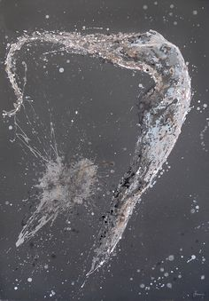 Amonaria Magda Maciaszek, She 2, akryl na płótnie, 120 x 80 cm.