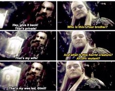 Legolas has no idea of what the future holds...