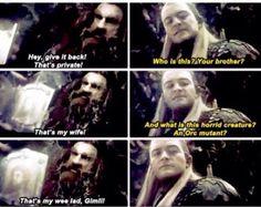 Legolas has no idea of what the future holds...