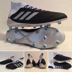 172384cca08f Women s Adidas Predator 18.1 Firm Ground Soccer Cleats BD7298 Size 8