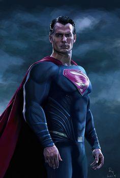 Batman v Superman | Henry Cavill Painting by danb13 on DeviantArt
