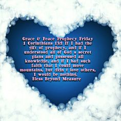 Grace & Peace Prophecy Friday