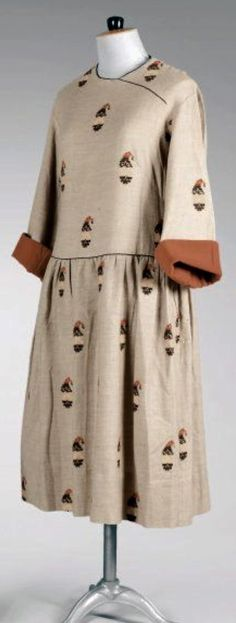 Paul Poiret Day Dress
