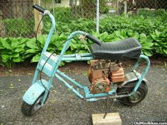 similar to the Montgomery Ward's mini bike I had.  There were a lot more fields and open space in Oakdale back then to ride with my friends.