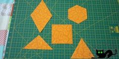 No pases de largo por este tutorial. En él te explicamos cómo hacer cortes en tus telas para obtener las formas más habituales que usamos en patchwork.