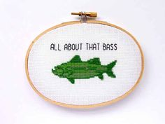 This fun cross stitch for animal lovers.