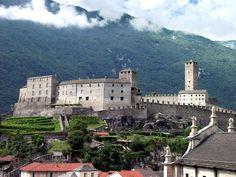 Castelgrande in Bellinzona, Switzerland