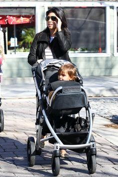 The BEST stroller!  Bassinet for littlest stage, seat goes rear-facing, front facing and tilts up and back.  Can buy additional seat for two or skateboard attachment for three or
