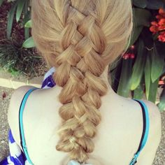 Five Strand Braid - Hairstyles and Beauty Tips