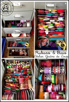 Rangement et Organisation dans mes tiroirs ;)