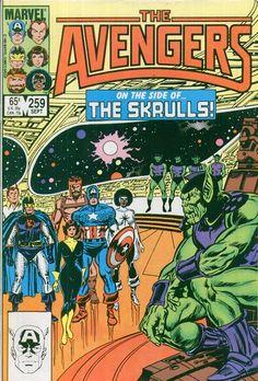 Avengers Vol 1 259 - Marvel Comics Database