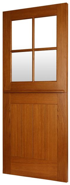 ASCOT door is a part of Todd Doors new traditional Oak front door range which has been designed to improve and complement and traditional home. The door is solid in construction and features flat panel detailing and clear double glazed units. Oak Doors, Wooden Doors, Oak Front Door, Glass Room, Timber Door, British Standards, External Doors, Door Sets, House Entrance
