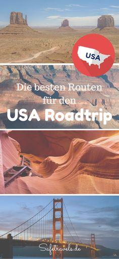 Die besten Routen für Deinen USA Roadtrip im Südwesten und an der Westküste. Lass Dich inspirieren: San Francisco, Grand Canyon, Antelope Canyon, Bryce, Zion, Las Vegas, Route 66, Los Angeles...