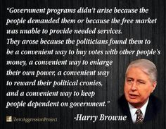 Government dependency