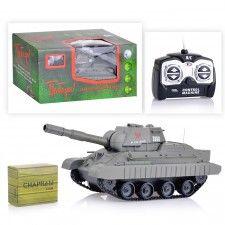 "Танк 3886A ""Победа"" стрельба, р/у, на аккумуляторах, з/у, в коробке"