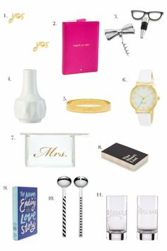 Wedding Gift Ideas New York : Bridal Gift Ideas with @kate spade new york More