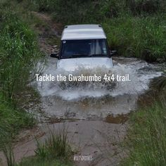Just an hour outside the city lies a trail with different gradings so you can upgrade your offroad skills