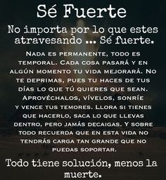 Positive Phrases, Motivational Phrases, Positive Quotes, Spanish Inspirational Quotes, Spanish Quotes, Words Quotes, Love Quotes, Badass Quotes, Feelings Words