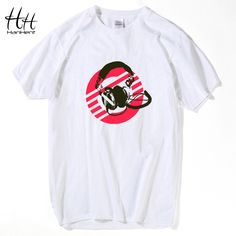 HanHent  Cool T-Shirts Musical elements Short Sleeve T Shirt  Men Casual Cotton O-Neck Fashion T-shirt Harajuku Hip Hop TA0512 #Affiliate
