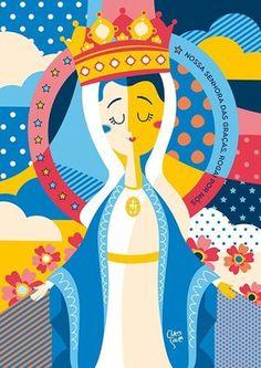 Mais do que uma coleção de posters de santos, essa linha retrata a fé brasileira e o seu jeito alegre de expressar isso. Por meio de muitas cores,...