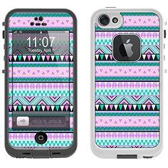 Skin Decal for LifeProof iPhone 5 Case - Aztec Andes Mauve and Teal Pattern Design TrekSkins http://www.amazon.com/dp/B00L9JVXWA/ref=cm_sw_r_pi_dp_aQEkub1R6BYNX