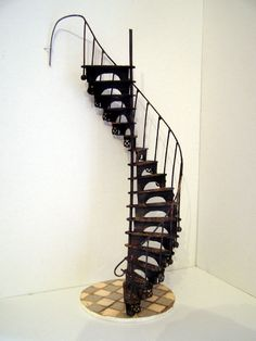 Spiral Staircase    This one is made from fans! Check the website for tutorial