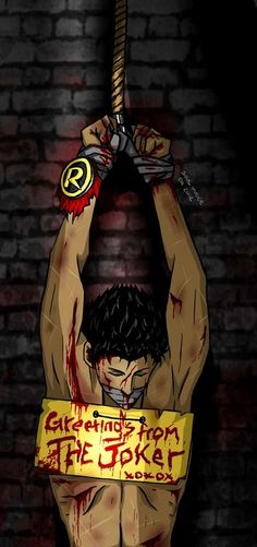 and so the Robin was clipped of his wings...and all our hearts were broken. Jason Todd