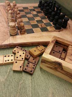 Chess Board Set & Domino Chess Board Set