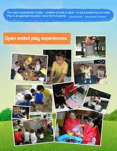 Play Based Learning Poster - free download!