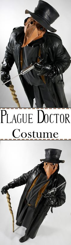 Recreate a creepy part of history with this costume.