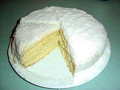 Recette Dessert : Le mont blanc (gateau antillais crème coco) par Johanne61