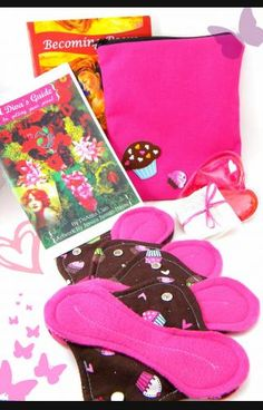 A Tween Diva's First Period Kit: Miss Thing, size 8-10