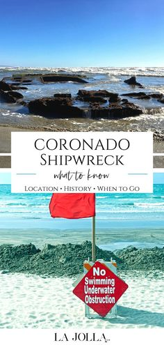 Learn the history, location, tips for visiting and fun facts about the SS Monte Carlo ship, the Coronado shipweck that appears at low tides. Find all the details here at La Jolla Mom