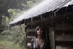 Love the sound of rain on the roof.