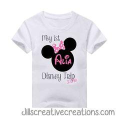My First Disney Trip T-Shirt
