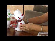 DIY Natal - Latas decoradas - YouTube