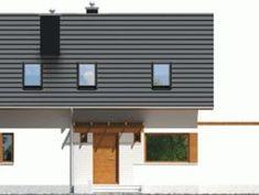 Projekt domu AC Lea (wersja B) CE - DOM - gotowy koszt budowy Outdoor Decor, Home Decor, Homemade Home Decor, Decoration Home, Interior Decorating