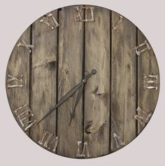 Hey, I found this really awesome Etsy listing at https://www.etsy.com/uk/listing/524064869/oversized-wall-clock-handmade-wooden