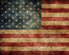 Stars and Stripes Wall Mural