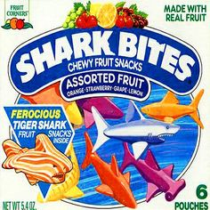 Shark Bites fruit snacks - my kids ate these! 90s Childhood, My Childhood Memories, Shark Bites Fruit Snacks, Discontinued Food, 90s Girl, I Remember When, Oldies But Goodies, Ol Days, W 6