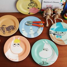 MOOMIN (Moomin) melamine plate