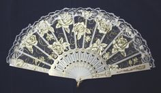 Chinese Lace Hand-Held Folding Fan